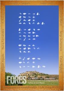 Poesia visual al I Forès poesia i música